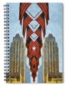 American Architecture Spiral Notebook
