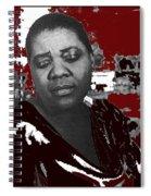 American Blues Singer Bessie Smith Unknown Date-2013 Spiral Notebook