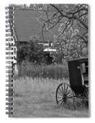 Amish Living Spiral Notebook