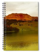 An Alpine Lake Spiral Notebook