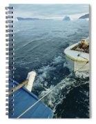An Inuit Hunter Ferries His Sled Dogs Spiral Notebook