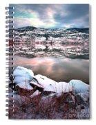 An Okanagan Winter Spiral Notebook