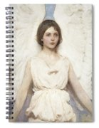 Angel Spiral Notebook