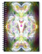 Angel Of Positive Thoughts Spiral Notebook