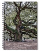 Angel Tree Spiral Notebook