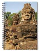 Angkor Thom South Gate Spiral Notebook