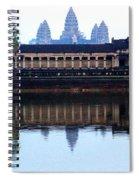 Angkor Wat Reflection Spiral Notebook