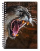 Angry Cougar 1 Spiral Notebook