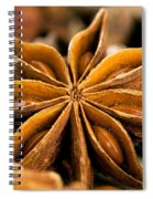 Anise Star Spiral Notebook
