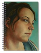 Anja Daydreaming Spiral Notebook