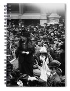 Anna Howard Shaw Spiral Notebook