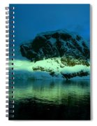 Antarctic Fiord Spiral Notebook