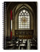 Antwerp Cathedral Spiral Notebook
