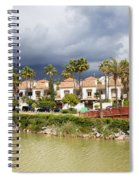 Apartment Houses In Marbella Spiral Notebook