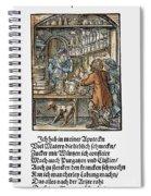 Apothecary, 1568 Spiral Notebook