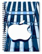 Apple In The Big Apple Spiral Notebook