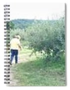 apple orchard WIDE Spiral Notebook