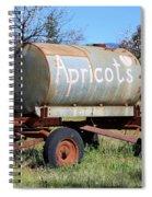 Apricots Spiral Notebook