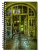Arch Door Spiral Notebook