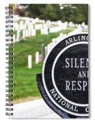 Arlington National Cemetery Part 1 Spiral Notebook