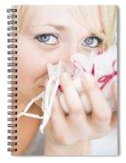 Aromatherapy Spiral Notebook