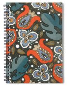 Art Deco Phone Case Spiral Notebook