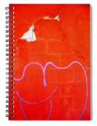 Art Homage Joan Miro Picacho Arizona 2005 Spiral Notebook