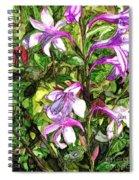 Art In The Garden II Spiral Notebook