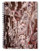Art Monochrome Spiral Notebook