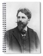 Arthur Schnitzler Spiral Notebook