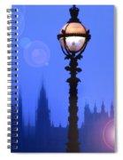 As Night Falls Spiral Notebook