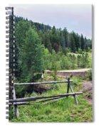 Aspen Trees In Vail - Colorado Spiral Notebook