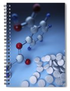 Aspirin Spiral Notebook