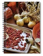 Assorted Spices Spiral Notebook