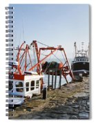 At The Cobb -- Lyme Regis Spiral Notebook