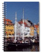 At The Harbor Spiral Notebook