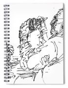 At Tim Hortons Spiral Notebook