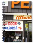 Atlantic City New Jersey - Boardwalk Spiral Notebook