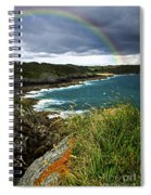 Atlantic Coast In Brittany Spiral Notebook