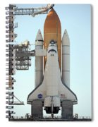 Atlantis Space Shuttle Spiral Notebook