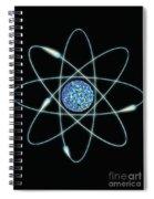 Atom Spiral Notebook