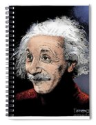 Atomic Albert Spiral Notebook