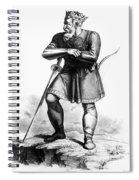 Attila (c406-453) Spiral Notebook