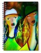 Au Pluriel Spiral Notebook