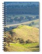 Australian Landscape Spiral Notebook