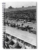 Auto Race, C1922 Spiral Notebook