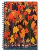 Autumn Foliage Spiral Notebook