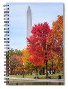 Upward - Autumn High Spiral Notebook
