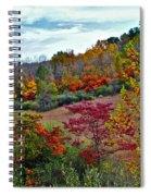 Autumn In Full Bloom Spiral Notebook