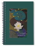 Autumn Lily Spiral Notebook